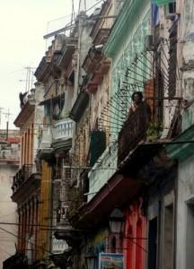 Buildings Old Havana Cuba