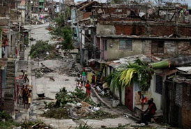Americans account of Hurricane Sandy in Cuba